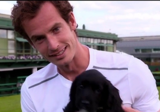 Video: Andy Murray's Dog Days