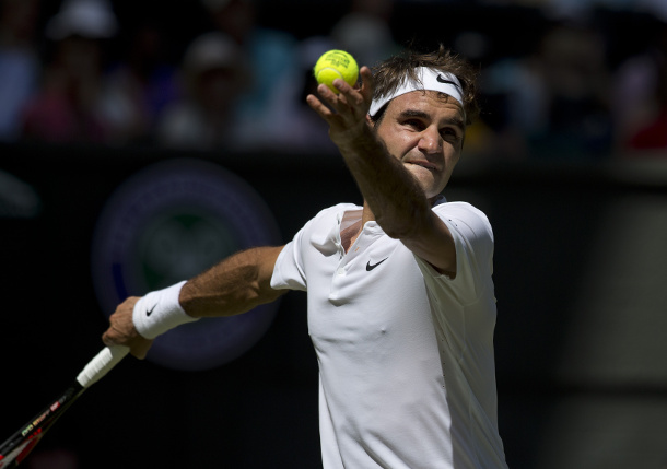 Federer Motivated to Reconnect with Aura at Tennis Mecca