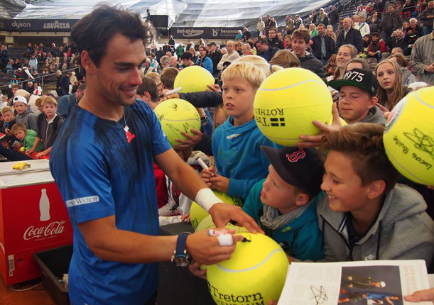 Fognini Wins, Bautista Agut, Monaco Fall in Hamburg