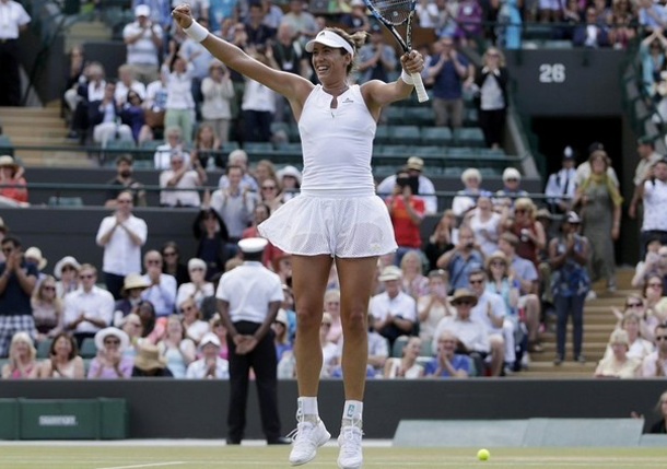 Muguruza Tops Radwanska to Reach Wimbledon Final