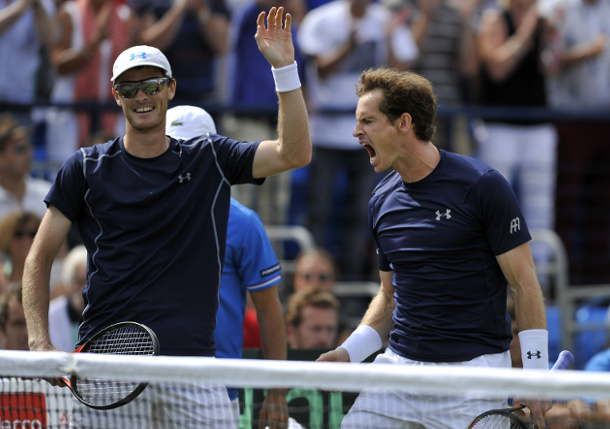 Murray Brothers Seize Davis Cup Doubles Win Over France