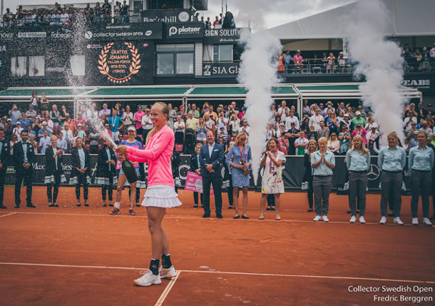 Video: Larsson Beats Barthel to Win First Title in Bastad