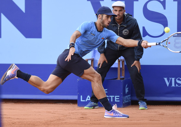 Lopez, Bellucci Advance in Gstaad