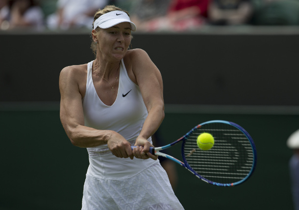 Muscle Tear Ends Sharapova's Grass Hopes