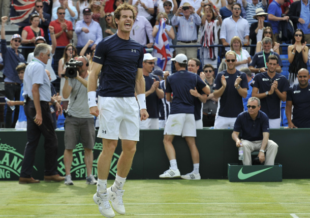 Murray Clinches Davis Cup Semifinal Berth for Great Britain
