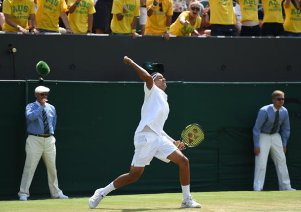 Kyrgios Rallies Past Raonic To Reach Wimbledon Fourth Round