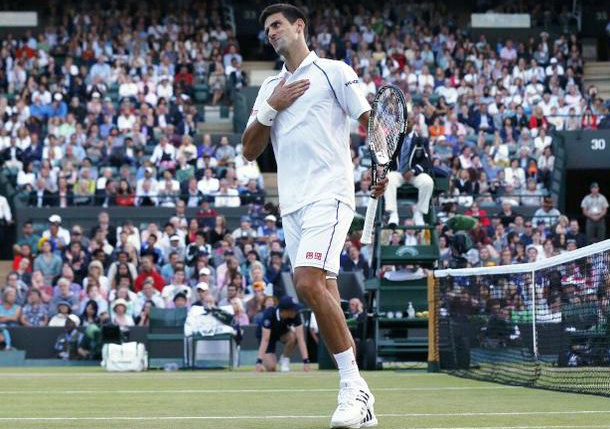 Djokovic Edges Anderson, Will Meet Cilic in Wimbledon Quarterfinals