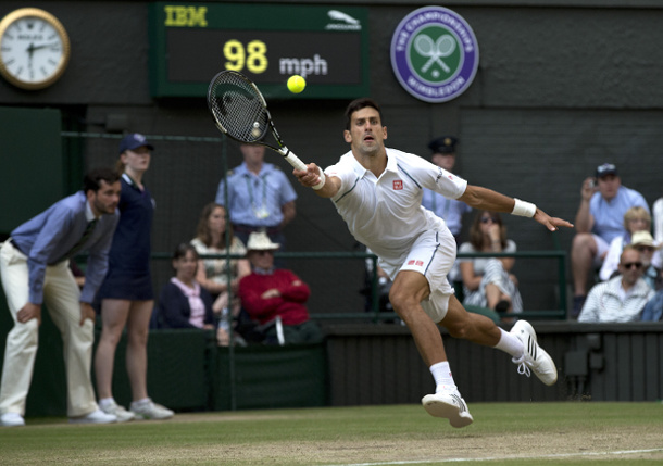Djokovic Dissects Gasquet to Reach Fourth Wimbledon Final