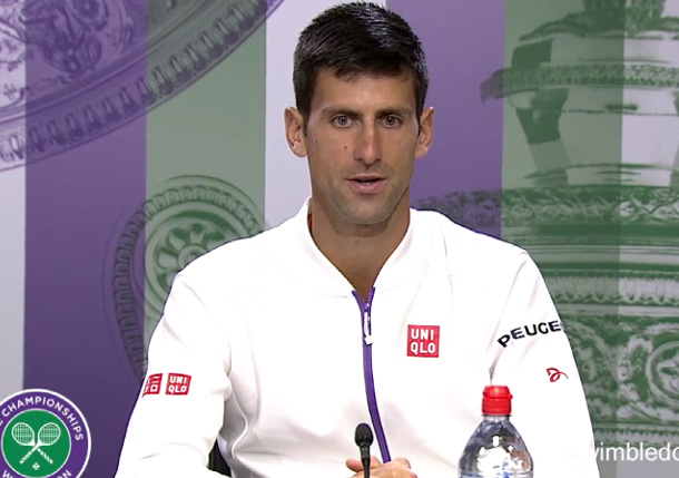 Video: Djokovic Suggests Shift For Cilic Rematch