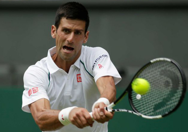 Djokovic Ends Nieminen's Wimbledon Career to Reach Third Round