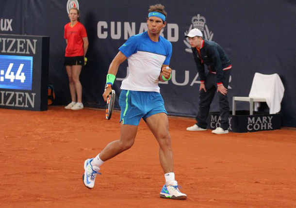 Nadal Powers Past Verdasco in Hamburg Return