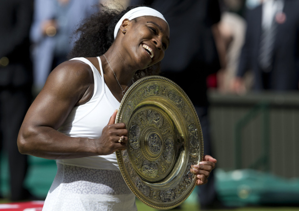 Any Draw is a Good Draw for Serena Williams
