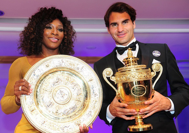 Serena: Federer Is Diversion & Inspiration