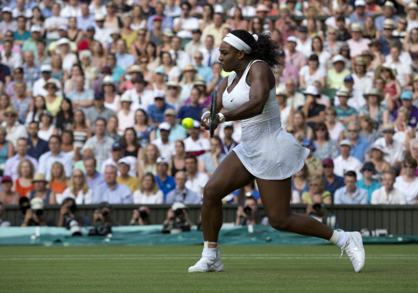 Serena Subdues Watson and Crowd, Will Face Venus in Wimbledon Fourth Round