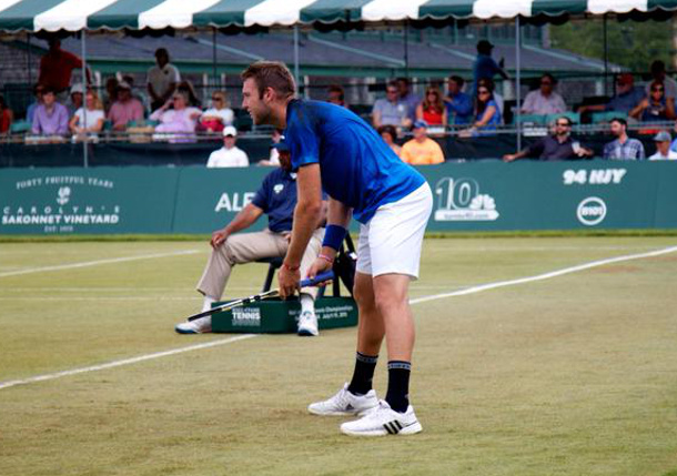 Ram Upsets Isner; Sock, Querrey Advance in Newport
