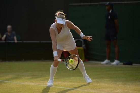 Rejuvenated Qualifier Mattek-Sands Stuns Ivanovic