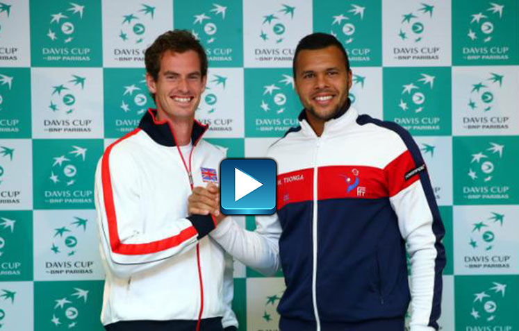 Davis Cup Preview - Stars Rock Red Carpet