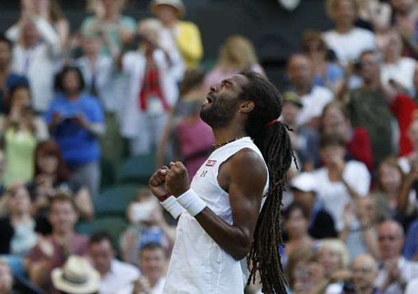 Brandishing Old-School Tactics, Brown Stuns Nadal at Wimbledon