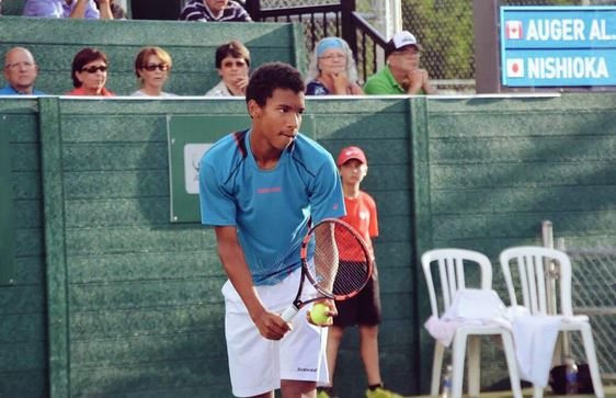 Raonic and Tennis Canada Brass Praise 14-Year-Old Auger-Aliassime