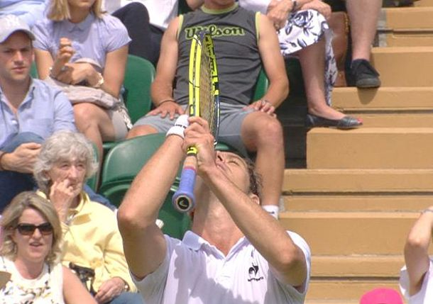 Video: Gasquet's Prayers Are Answered on 3rd Match Point vs. Kyrgios