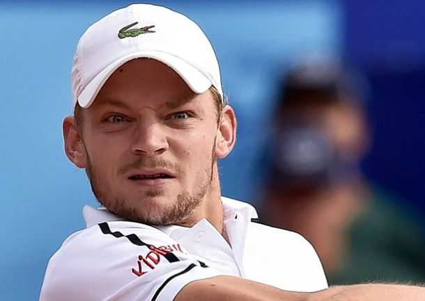 Top-Seeded Goffin Battles Past Sousa to Reach Gstaad Semis