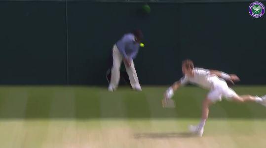 Video: Karlovic's Serve Hits Lineswoman in Head, and She Lives