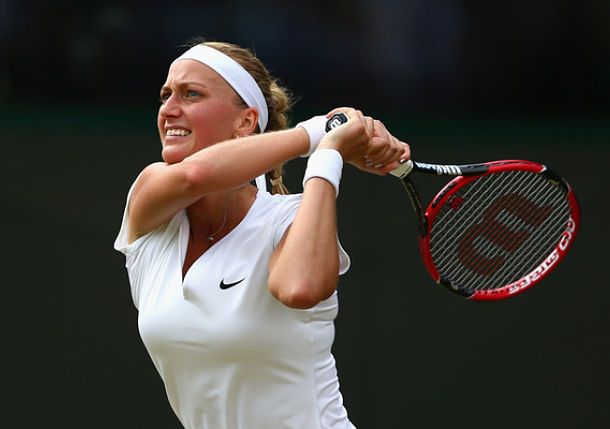 Kvitova Sails, Lisicki Struggles, Both Advance