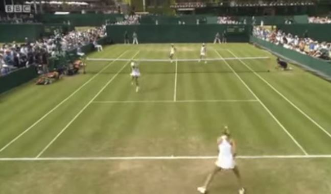 Video: Johanna Larsson's Miracle No-Look Winner