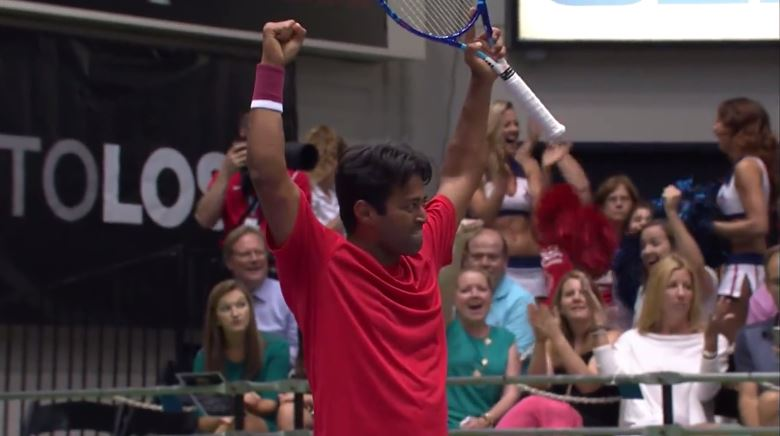 Paes and Lipsky Pull out the Magic Wands During WTT Action