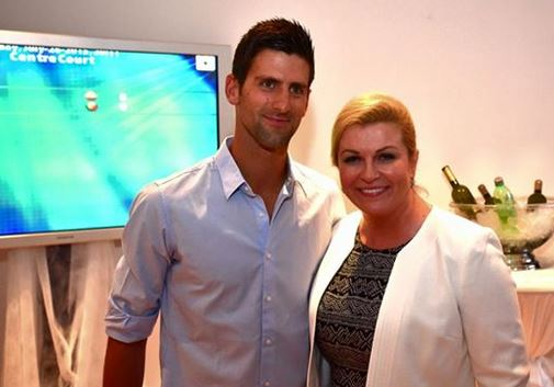 Djokovic Attends Umag Final, Meets Croatian President