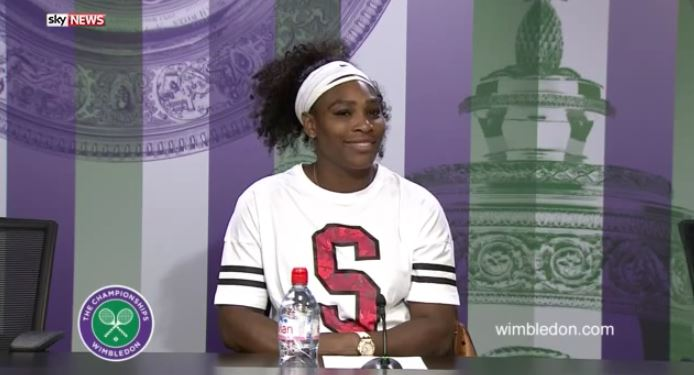 Nonplussed with Fire Alarm, Serena Williams Is Happy to Evacuate Presser