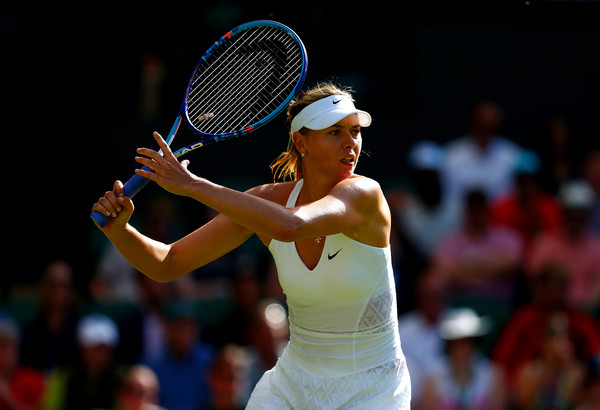 Despite Serving Woes, Sharapova in Cruise Control on Day 2