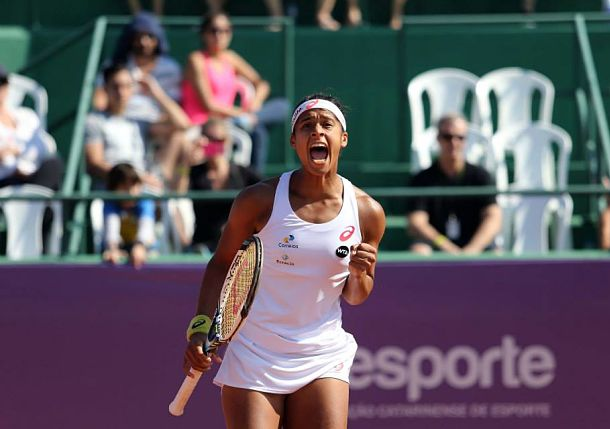 Brazil's Pereira Will Face Annika Beck in Florianopolis Final