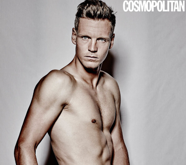 Berdych Strips Nude for Cosmopolitan UK
