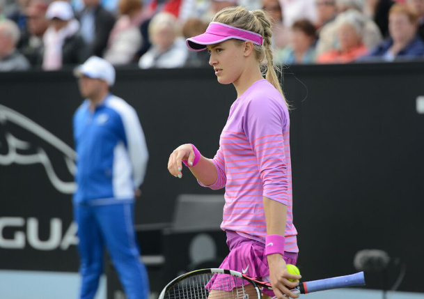 Bouchard Bounced Out of Grass-Court Opener