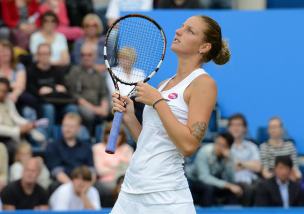 Pliskova Powers Past Mladenovic Into Fourth Final of Year