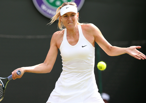 Sharapova Says No-Stress Is Key to Long Run