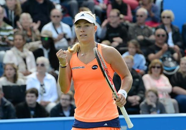 Kerber Edges Pliskova To Win Birmingham Title