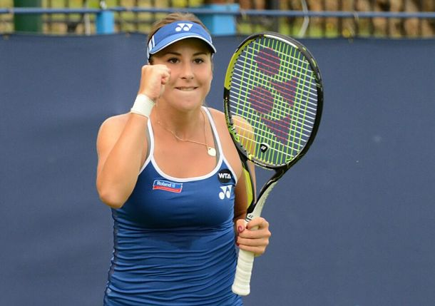 Bencic Stays Hot, Sets Wozniacki Clash at Eastbourne