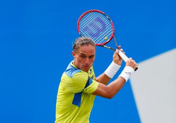 Nadal Bitten by the Dog at Queen's Club