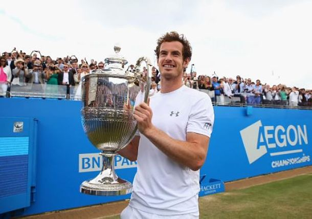 Resplendent Murray Claims Fourth Queen's Title