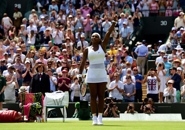Slow Start, Fast Finish for Serena in Wimbledon Opener