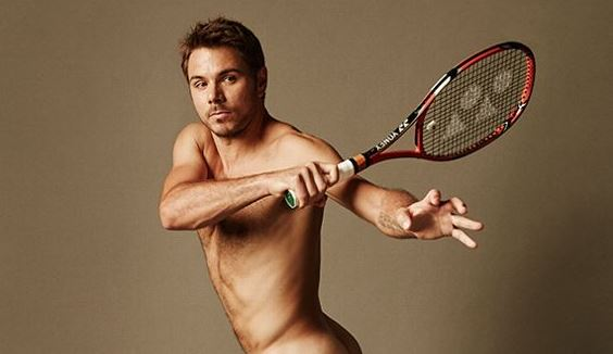 Stan Wawrinka Takes off Shorts for ESPN's Body Issue