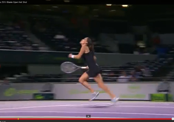 Video: Radwanska's Remarkable Get