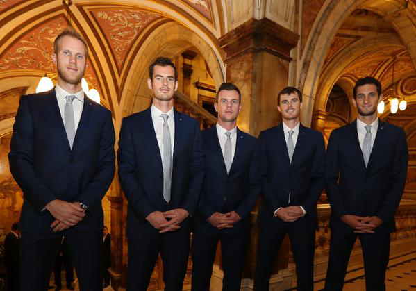 Suiting Up: Davis Cup Dinner Parties