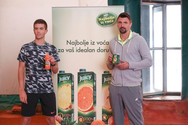 Borna Coric's Juicy Alliance
