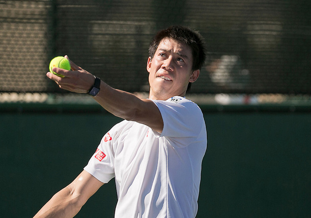 Nishikori Deconstructs Harrison To Reach IW Third Round