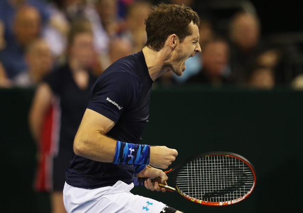 Murray Tops Isner to Send Britain Into Davis Cup Quarterfinals