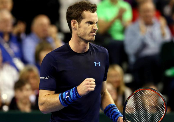 Murray Stops Young in Davis Cup Opener