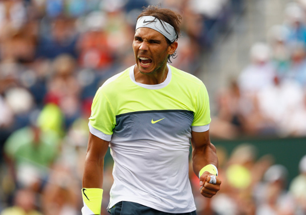 Nadal Tames Wind and Almagro to Reach Miami Third Round